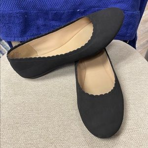 Easy Spirit size 9 like new black flats